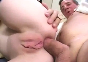 Sleepy daughter ass-blasted by her father