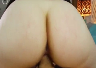 POV incest fucking with a big booty beauty